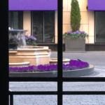 Waldorf-Astoria courtyard