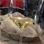 Moscato d'Asti - lovely pale colors, light fizz, gentle sweetness