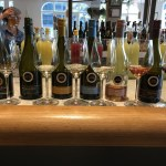 Tasting through Kim Crawford wines at Standard Pacific Time