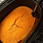 Loved the flavor kick from Pereg in this slow cooker crustless pumpkin pie