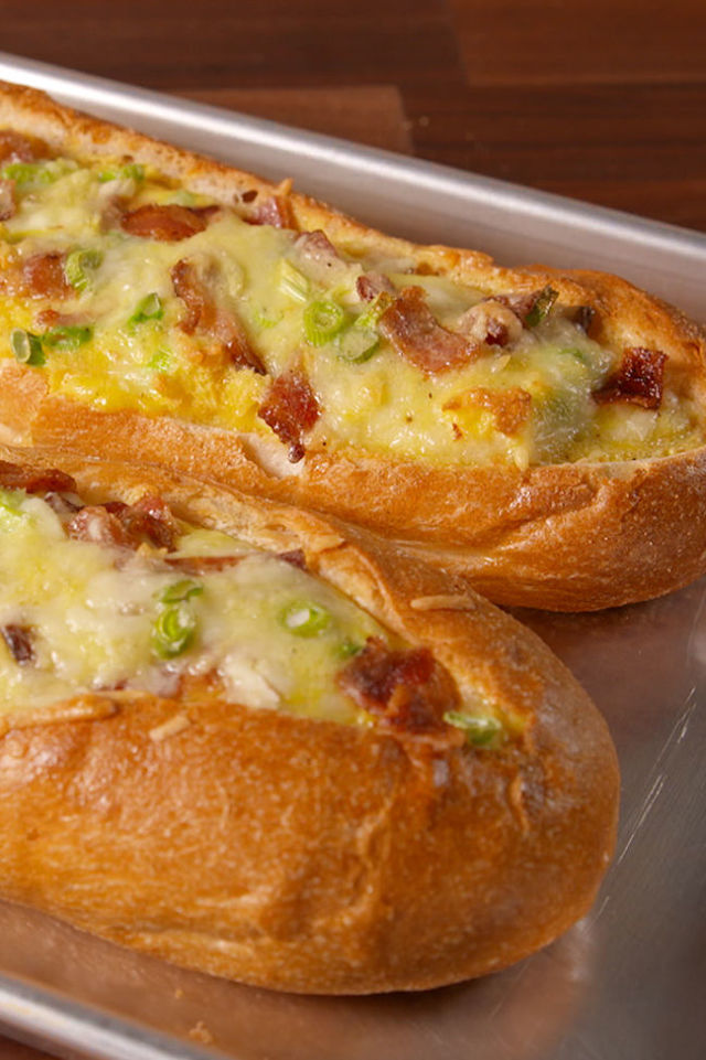 Breakfast Stuffed Bread