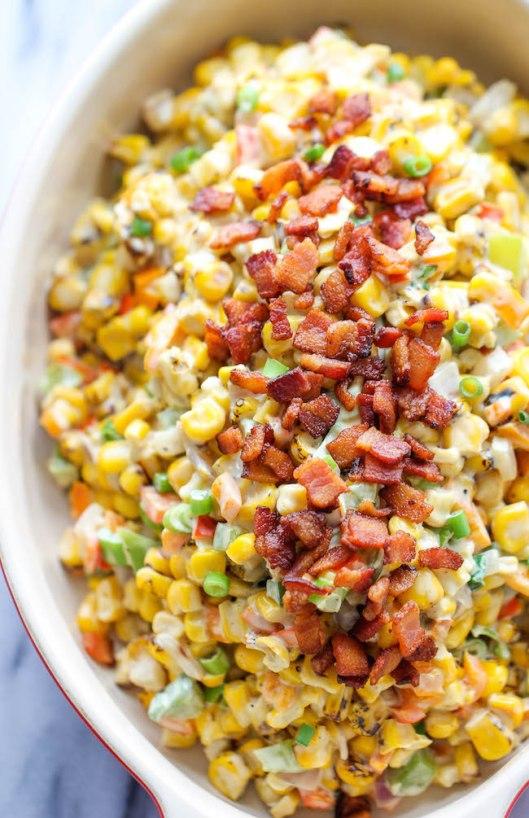 Corn & Bacon Dip