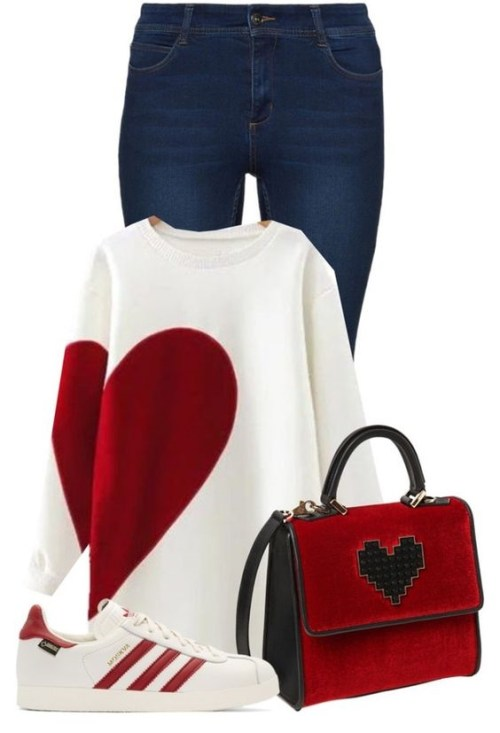 Go Casual For Valentines...But Do It Cute!