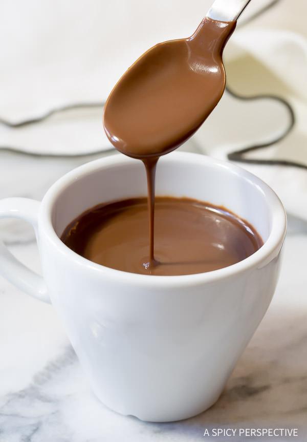 French Hot Chocolate Recipe