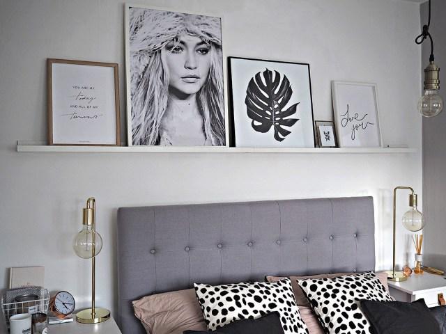 Scandinavian Inspired Bedroom