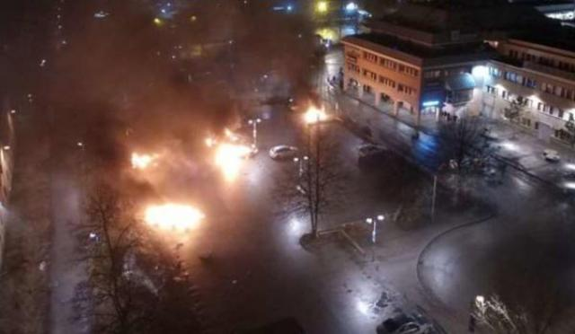 VIDEO: A day after fake news criticizes Trump's comments on Sweden 'Riots in Rinkeby'