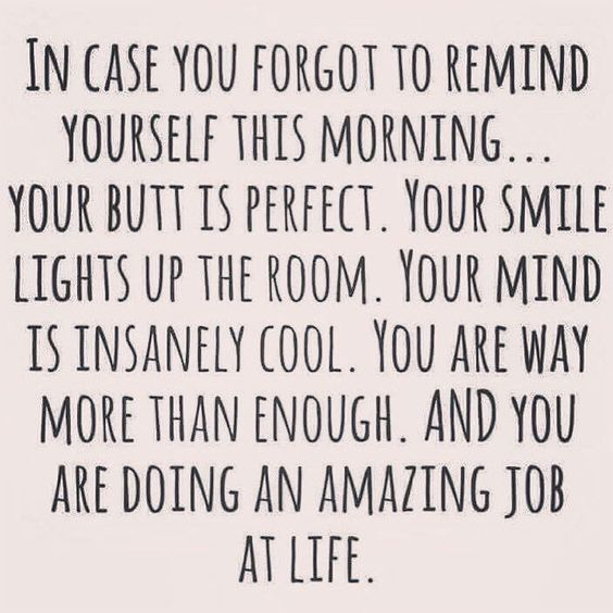 In case you forget to remind yourself