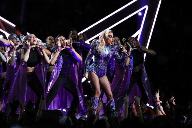 Lady Gaga avoids politics at Super Bowl halftime show