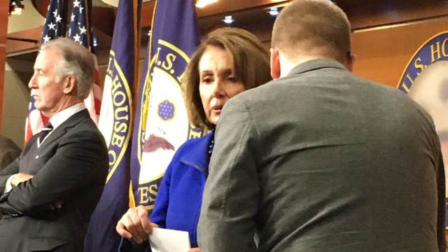 Nancy Pelosi got punked by a Flynn parody account, and it's on VIDEO 'SCAPEGOAT'