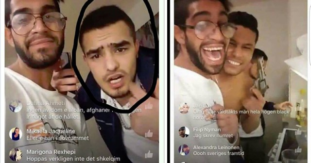 3 Men Gang-Rape Young Woman in Sweden, Broadcast It Live on Facebook