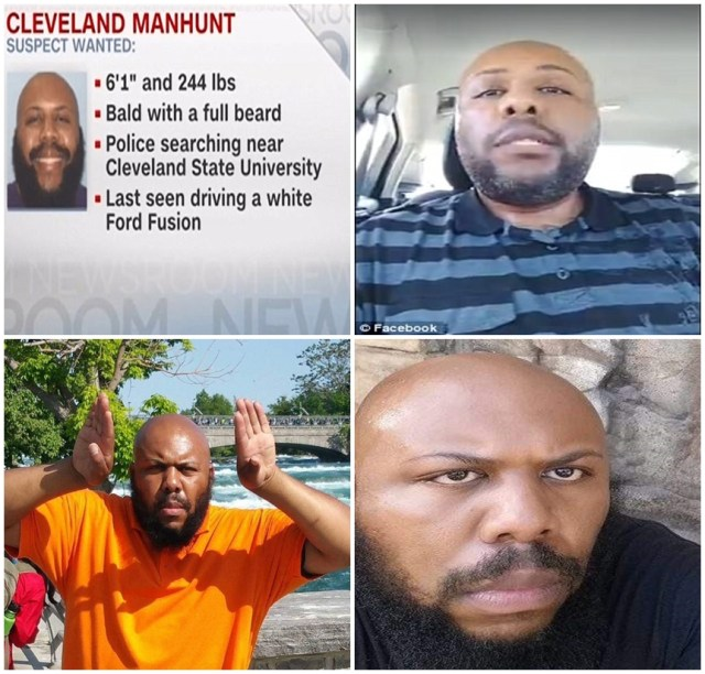 Reward $50,000 for Cleveland Facebook Shooter Steve Stephens