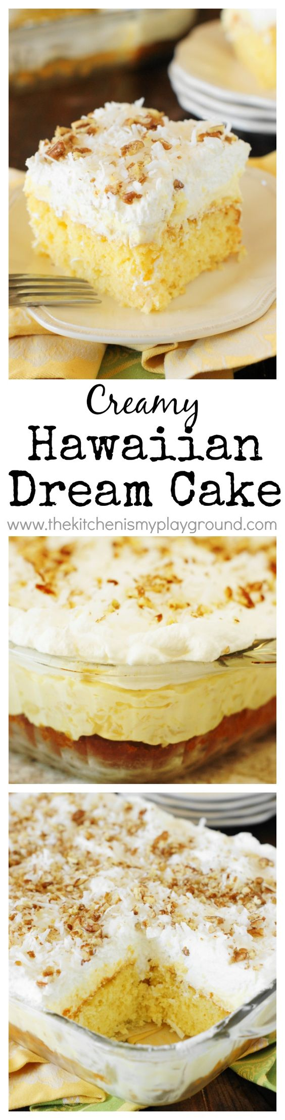 HAWAIIAN DREAM CAKE