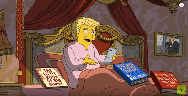 VIDEO: 'The Simpsons' Merciless Take on Trump's First 100 Days