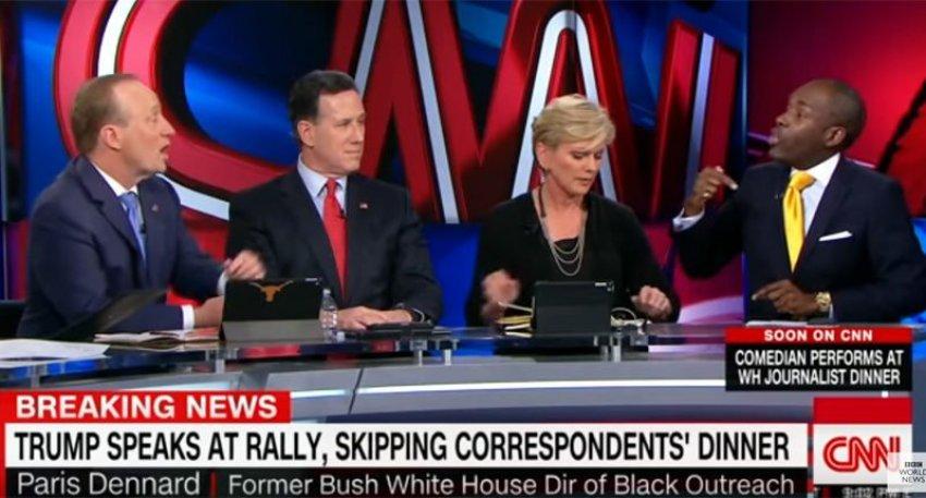 EPIC SMACKDOWN! CNN Commentator Demolishes CNN's Anchor for Trash Talking Trump (VIDEO)