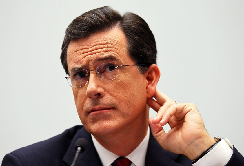 FCC to review Stephen Colbert's Trump jokes