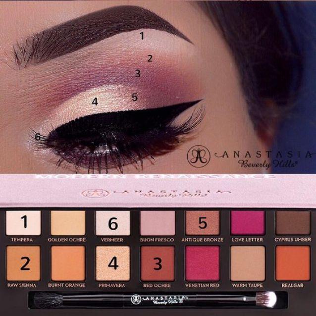 Makeup Eyeshadow Ideas~Beautiful!