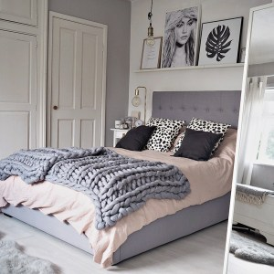 Scandinavian Inspired Bedroom