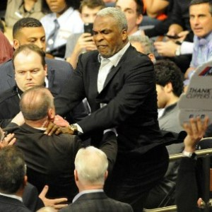 Charles Oakley has been banned from Madison Square Garden for life