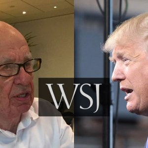 Wall Street Journal Editor To Reporters: 'If You Don't Like Our Objectivity On Trump, You Are Free To Leave'