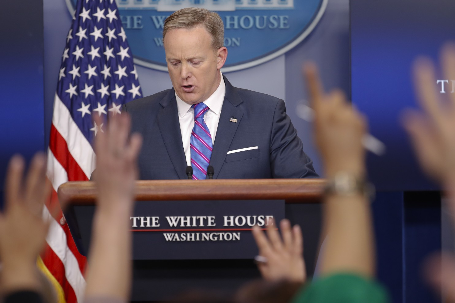 Give them enough rope... Has the White House press office's silence become a weapon in its war on the media?