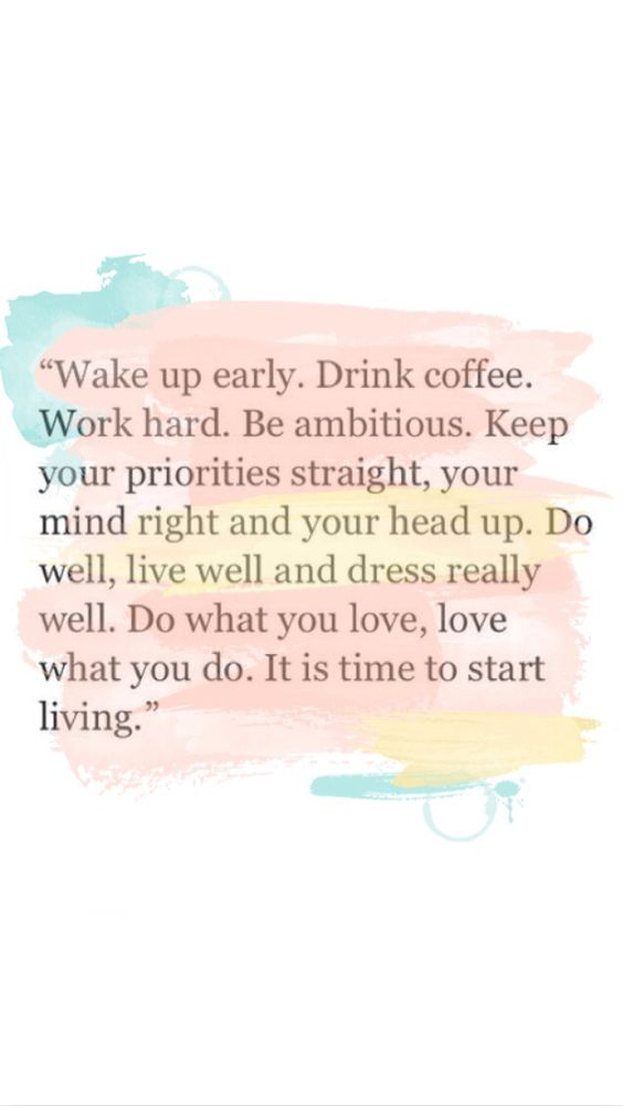 Do What you love, love what you do QUOTE