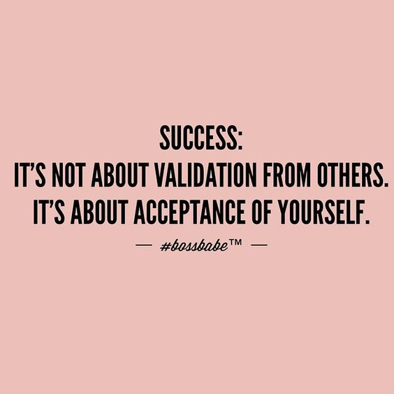 Success comes from you! QUOTE