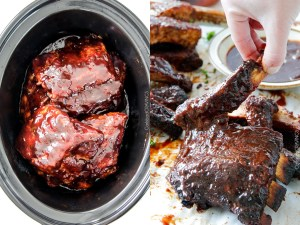 Easy Slow Cooker Barbecue Ribs