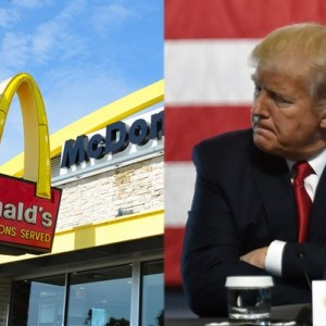 McDonald's Tweet Trashes President Trump