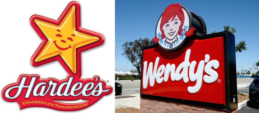Hardees tried to beef with Wendys on Twitter. Big