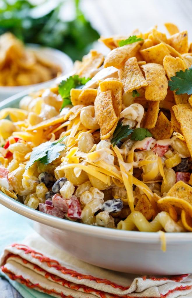 BBQ Ranch Pasta Salad