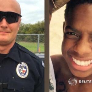 Texas officer charged with murder in shooting death of 15-year-old leaving party