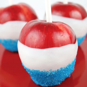Red, White and Blue Apples
