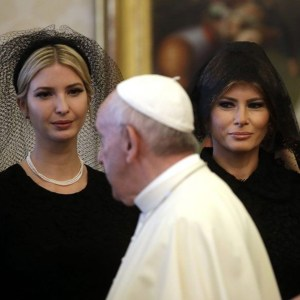 Why Melania Trump Wore Black To Meet The Pope