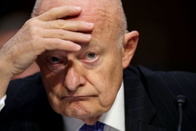 James Clapper: Still No Evidence of Trump Collusion with Russia