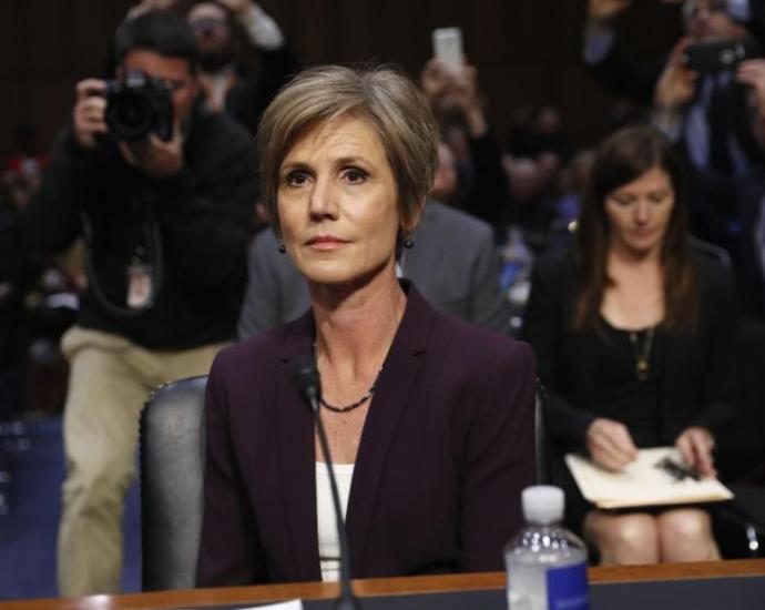 """Sen Kennedy to Sally Yates: """"Who appointed you to the Supreme Court?"""""""