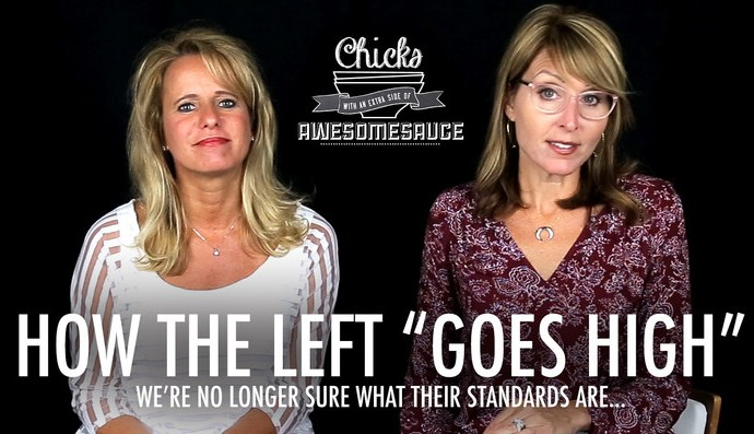 "How the Left ""Goes High"" -Chicks On The Right"