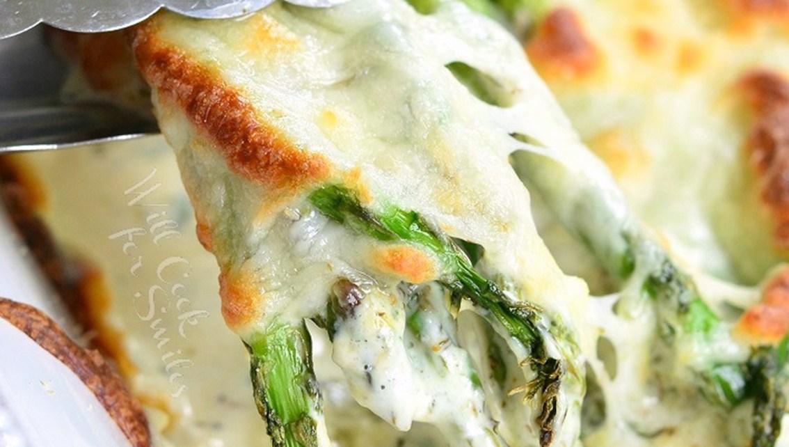 Creamy Italian Asparagus