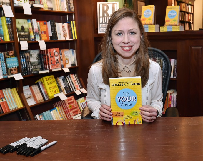 Chelsea Clinton Won't Sign A Request To Sign A Book For…Juanita Broaddrick