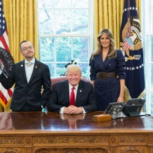 Trump Photo Op; LGBT Teacher Of The Year Steals The Show