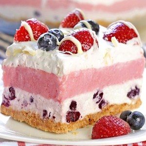 No Bake Summer Berry Delight