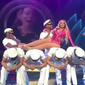 Mariah Carey Most Awkward Dance Performance Goes Viral