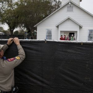 Texas church, site of massacre, might be torn down and rebuilt