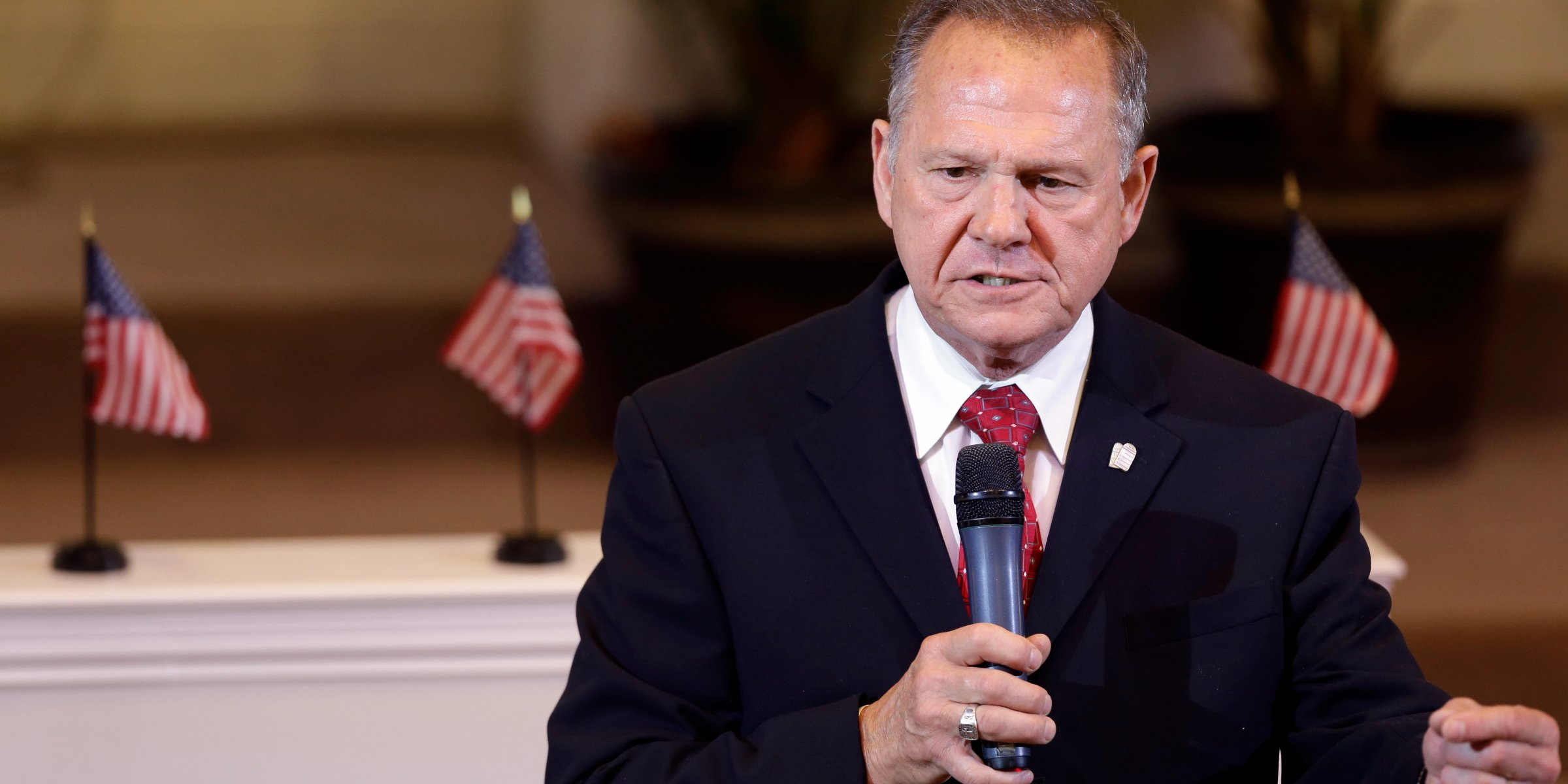 Alabama Senate GOP Nominee Roy Moore Tweets He's Fighting The 'Forces Of Evil'