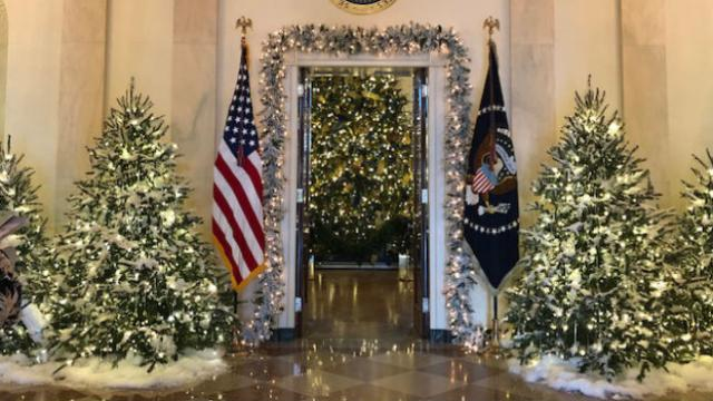 Melania unveils time honored traditions holiday decor