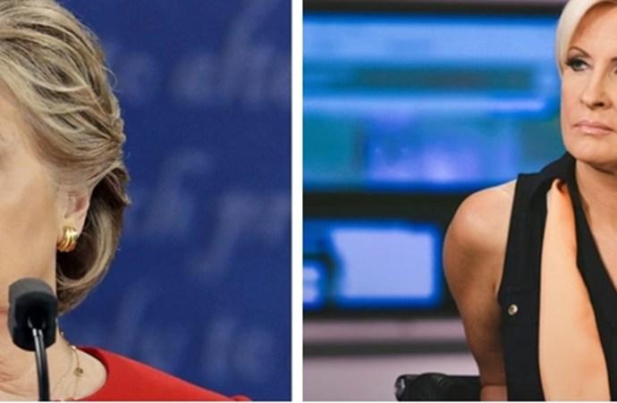 MSNBC's Mika Brzezinski Calls Out Hillary Clinton