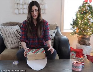 Lifestyle guru 'Kallie' shares brilliant gift wrapping hacks