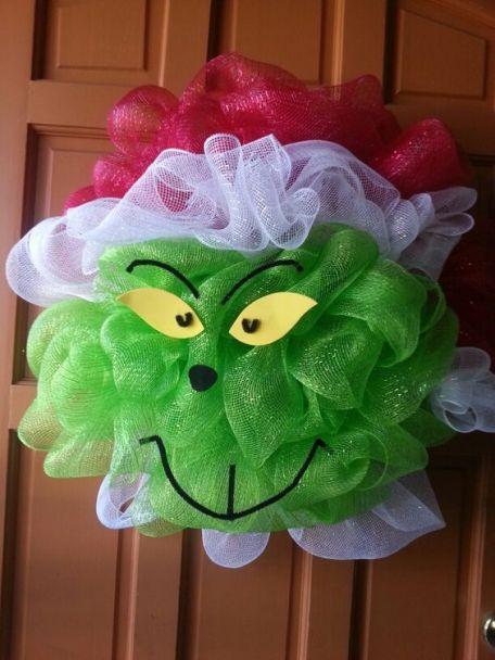 Grinch-Christmas-Deco-Mesh-Wreath