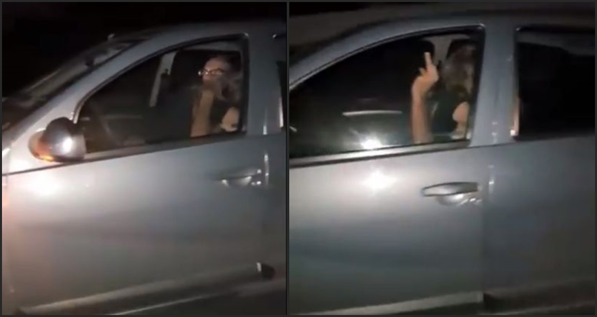 Couple Having Sex While Driving 70mph on Highway (VIDEO)
