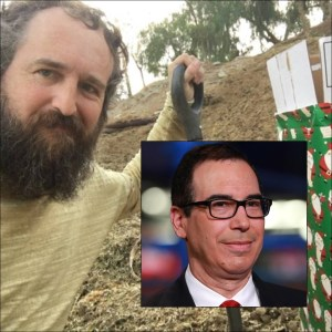 Man Taking Credit for Manure Gift to Steve Mnuchin Plans White House Deliveries