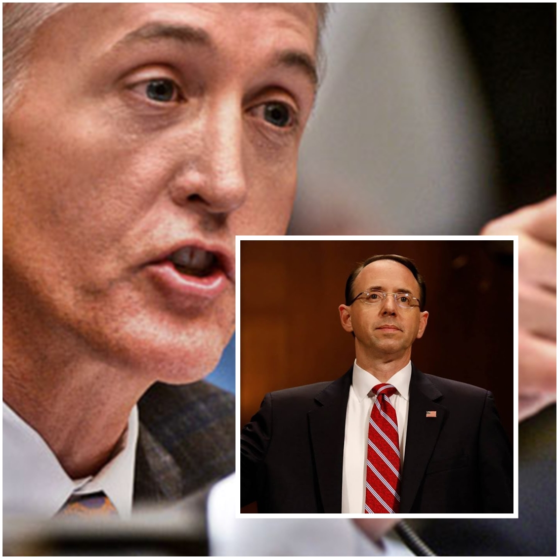 VIDEO: Trey Gowdy GRILLS Rosenstein On Corrupt 'Unbiased Special Counsel'--- And It's EPIC!